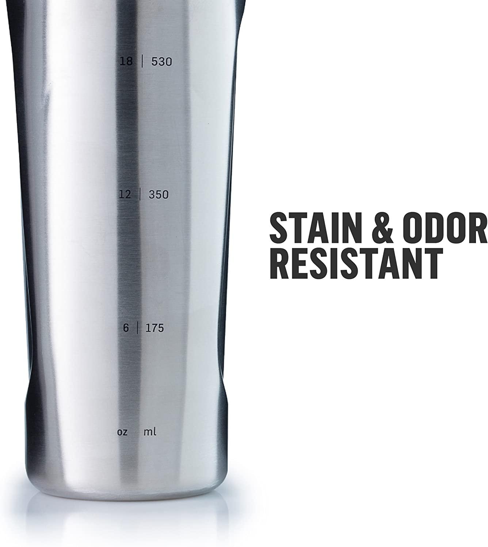 Radian Stainless Blender Bottle 1